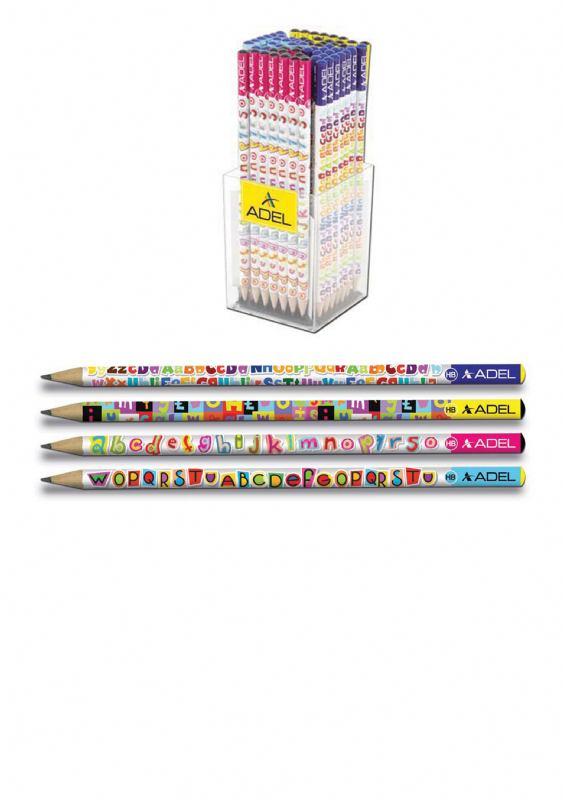 Grafitna olovka-LETTERS
