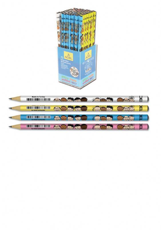 Grafitna olovka-SMILING FACES