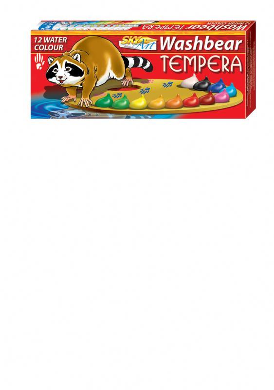 Tempere WASHBEAR (12 x 9 ml)