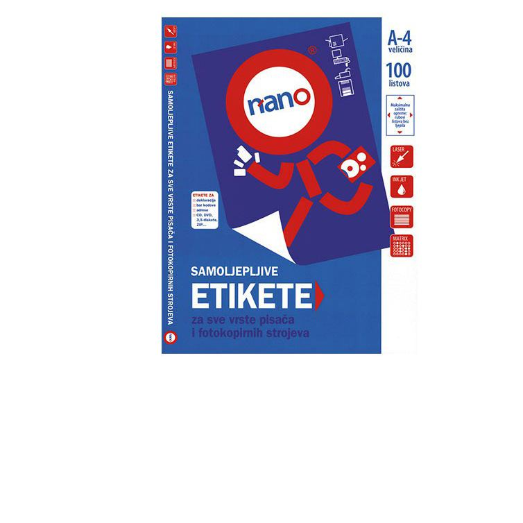 Etikete za ispis na pisačima 38x21,2 mm (N-01)