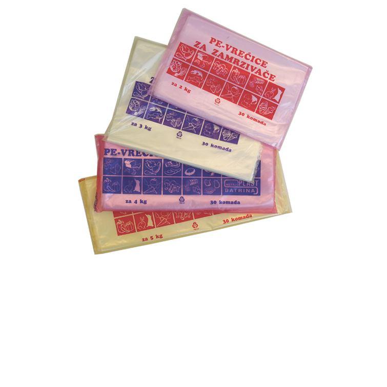 Vrećice za ZAMRZIVAČ - 5 kg