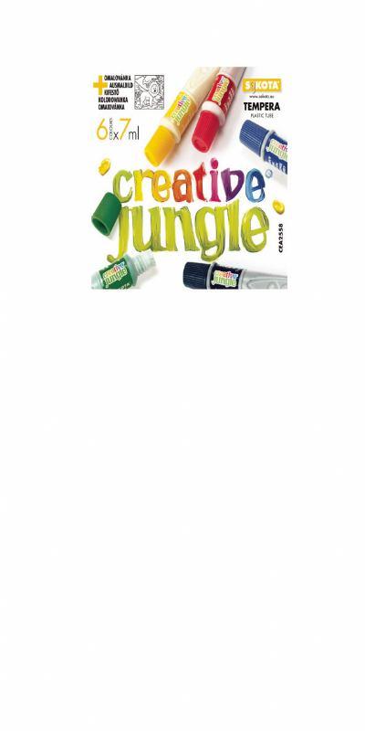 Tempere CREATIVE JUNGLE 6 (7ml)