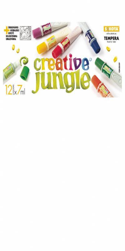 Tempere CREATIVE JUNGLE 12 (7ml)