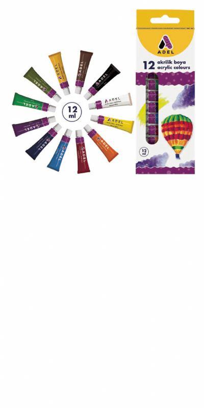 Akrilne boje 12 (12ml)
